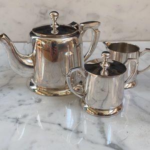3 PC SET-Towle Silver-Plate Tea or Coffee Set